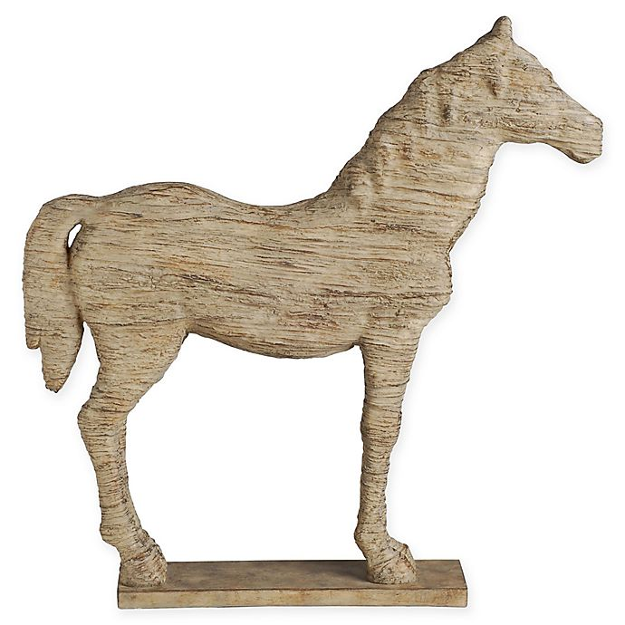 Alternate image 1 for A&B Home Defiance Polyresin Standing Horse Figurine