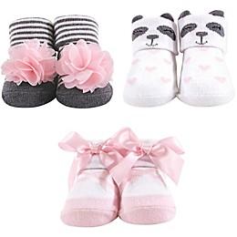 Hudson Baby® Panda 3-Pack Socks Gift Set