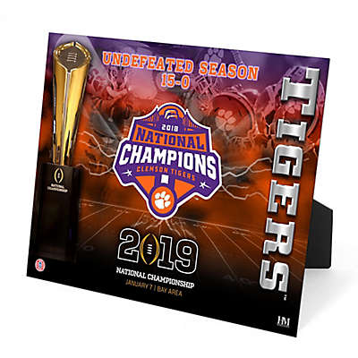 Clemson University 2019 Football National Champions PleXart