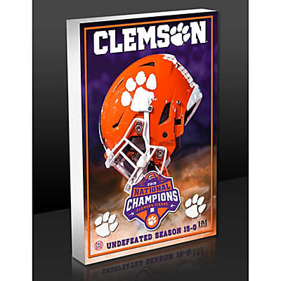Clemson University 2018 Football National Championship Acrylic Block