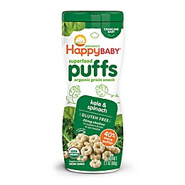 Happy Baby™ Happy Puffs™ Organic 2.1 oz. Puffs in Greens