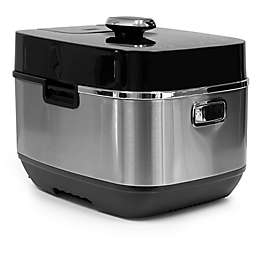 Healthy Cuisine 6 qt. Induction Heating Pressure Cooker in Silver