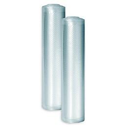 Caso® 8-Inch x 20-Foot 2-Pack Food Vacuum Bag Rolls