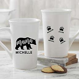 Mama Bear 16 oz. Coffee Mug in White