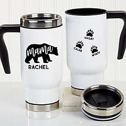 Mama Bear Personalized Commuter Travel Mug