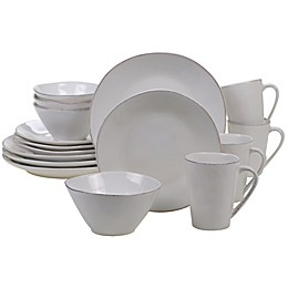 Certified International Harmony 16-Piece Dinnerware Set in Cream