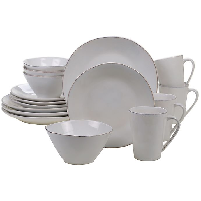 Alternate image 1 for Certified International Harmony 16-Piece Dinnerware Set in Cream