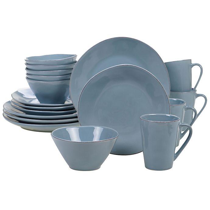 Alternate image 1 for Certified International Harmony 16-Piece Dinnerware Set in Teal