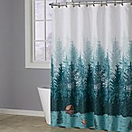 Evergreen Lodge Shower Curtain