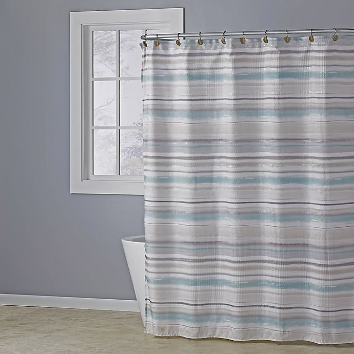 Skl Home Patricia Shower Curtain In, Shower Curtains Gray And Beige