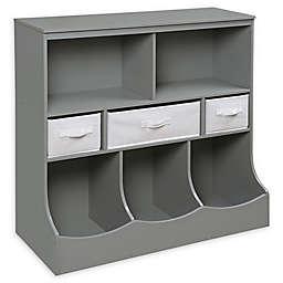 Badger Basket Combo Bin Storage Unit with 3 Baskets