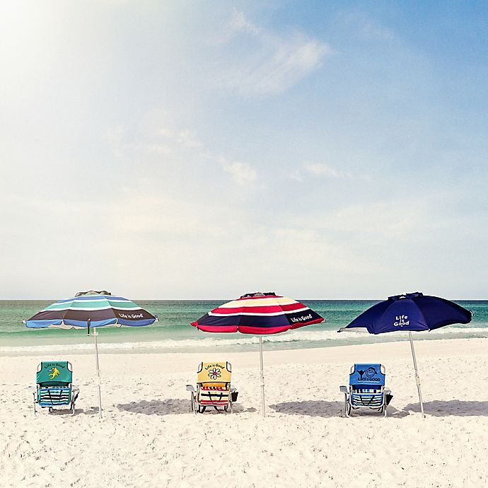 Alternate image 1 for Life is Good® Beach Chair and Umbrella Collection