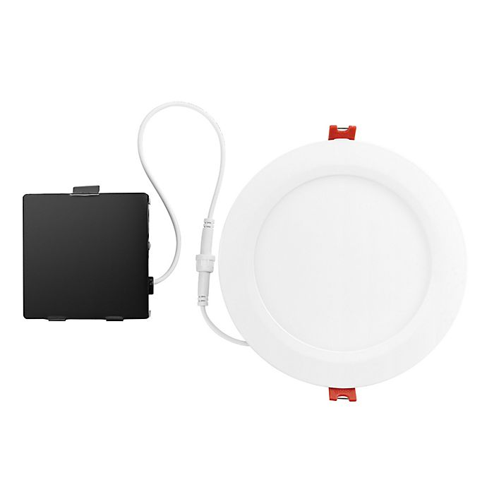 Alternate image 1 for Globe Electric Recessed Mount Recessed Lighting in White