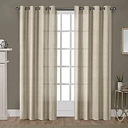 Winfield Grommet Light-Filtering Window Curtain Panel Pair