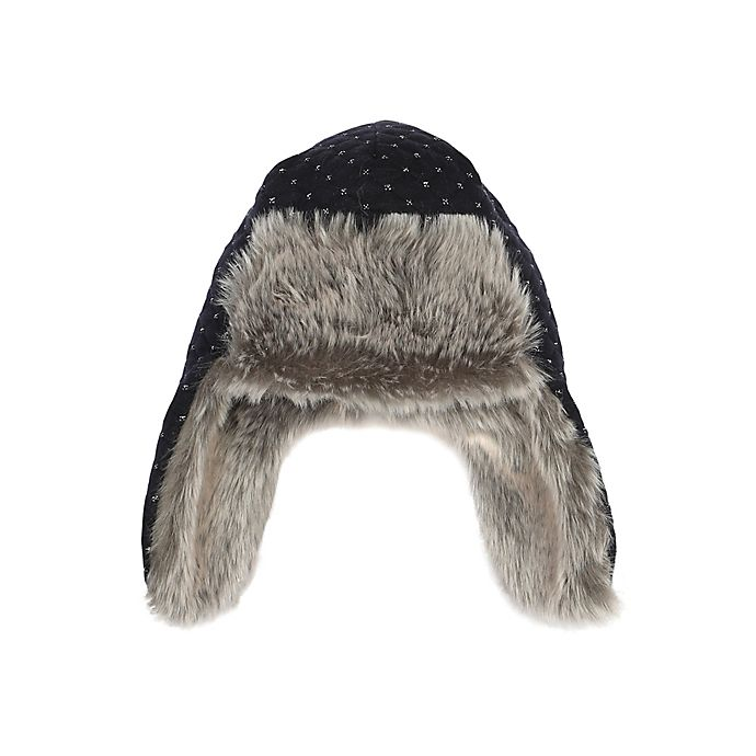 Alternate image 1 for Robeez® Quilted Bomber Hat