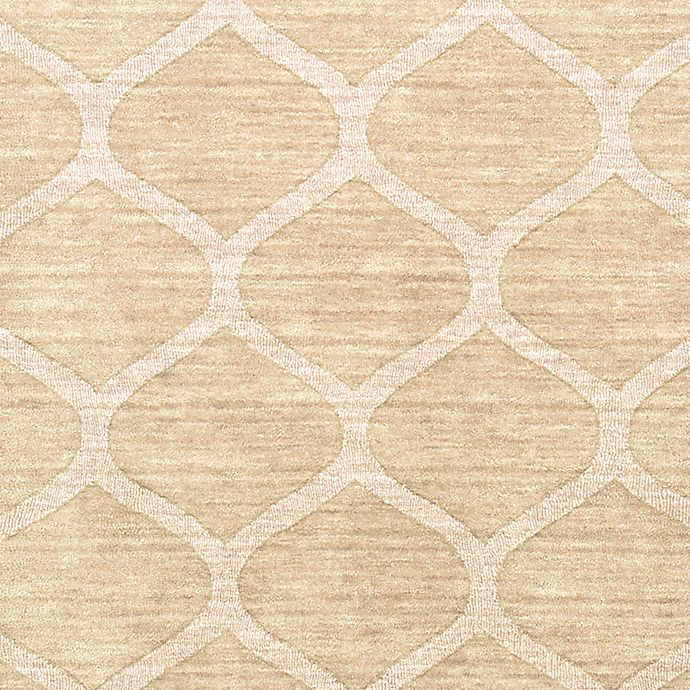 Alternate image 1 for Surya Mystique 2'6 x 8' Runner in Champagne