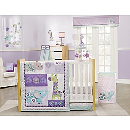 carter's® Zoo Collection 4-Piece Crib Bedding Set