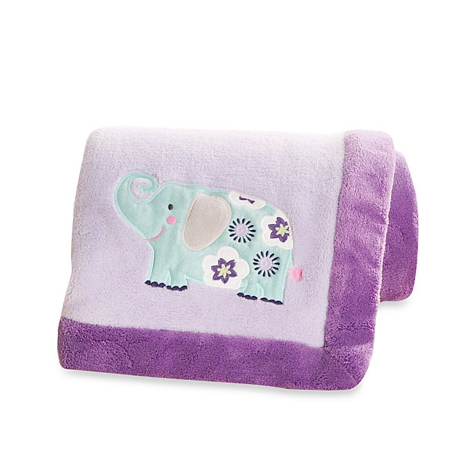 Alternate image 1 for carter's® Zoo Collection Blanket