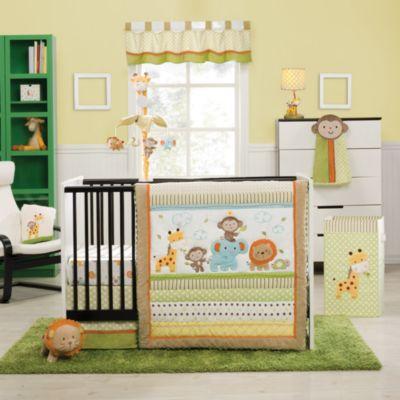 Kidsline Safari Party Crib Bedding Collection Buybuy Baby