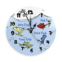 Dr. Seuss™ by Trend Lab® One Fish Two Fish Wall Clock
