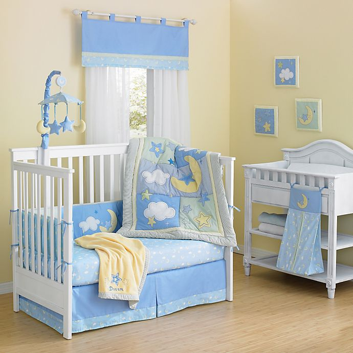 Alternate image 1 for New Country Home Laugh, Giggle & Smile Wish I May 10-Piece Crib Bedding Set