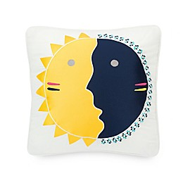 Pendleton Spider Rock Sun and Moon Square Throw Pillow in Yellow