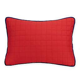 Urban Playground Ayer Standard Pillow Sham in Red