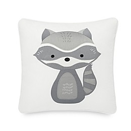 Pendleton® Embroidered Raccoon Throw Pillow in Ivory