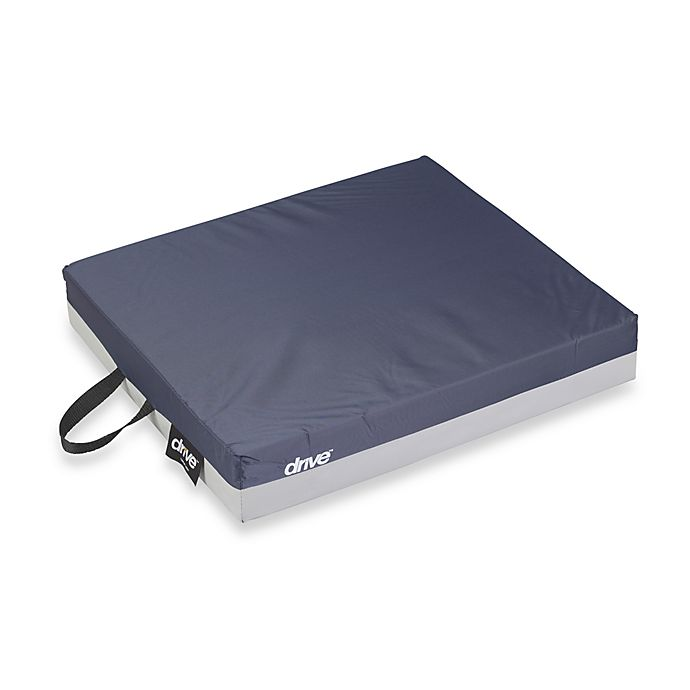 Alternate image 1 for Drive Medical 20-Inch x 16-Inch Gel Seat Cushion in Dark Blue