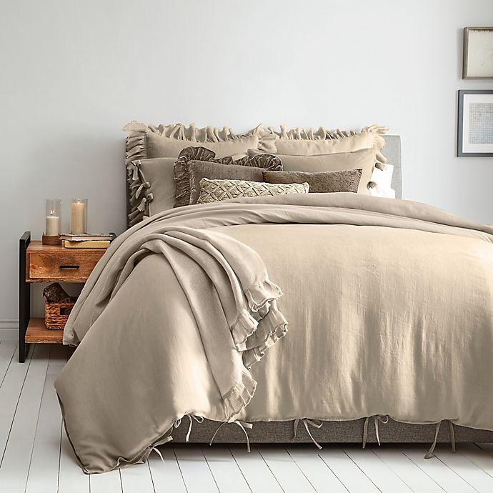Wamsutta Vintage Linen Duvet Cover