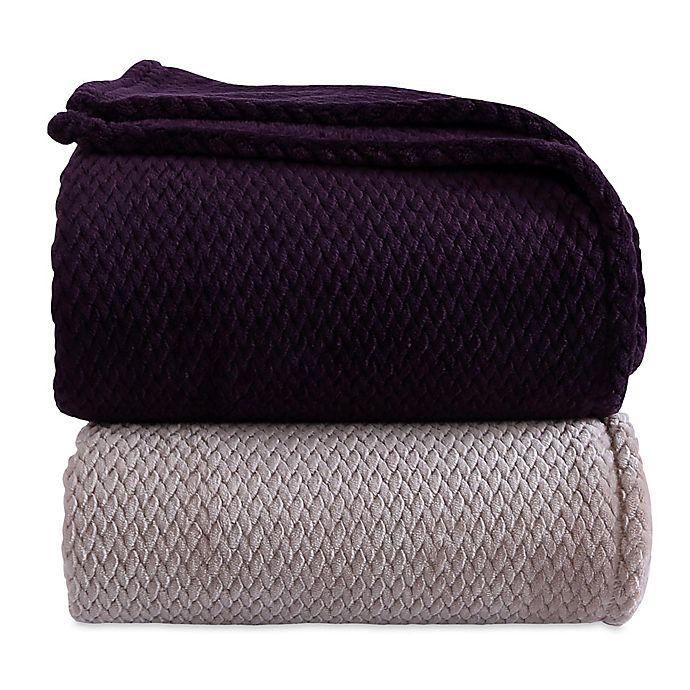 Alternate image 1 for Berkshire Blanket® Braided VelvetLoft® Blanket