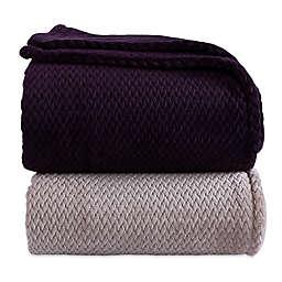 Berkshire Blanket® Braided VelvetLoft® Blanket