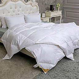 Puredown 233-Thread-Count Light Warmth Goose Down Comforter
