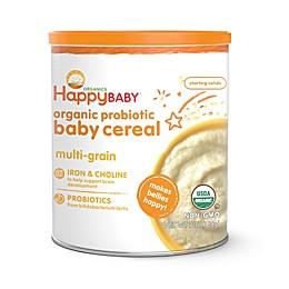 Happy Baby™ Happy Bellies™ Organic Baby Cereal with DHA + Pre & Probiotics in Multi-grain