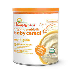 Happy Baby™ Happy Bellies™ Organic Baby Cereal with DHA + Pre & Probiotics in Multi-grain