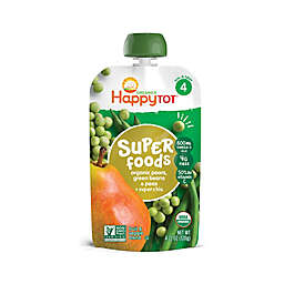 Happy Baby™Happy Tot™ 4.22 oz. Organic Veggie & Fruit Blend in Green Beans, Pear & Pea