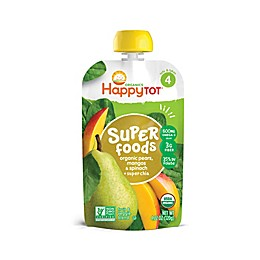 Happy Baby™ Happy Tot™ 4.22 oz. Organic Veggie & Fruit Blend in Spinach, Mango & Pear