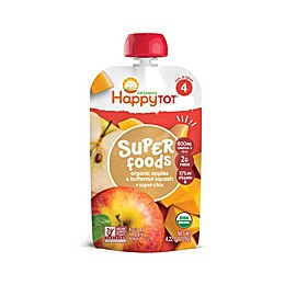 Happy Baby™ Happy Tot™ 4.22 oz. Organic Veggie & Fruit Blend in Apple and Squash