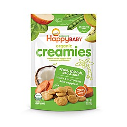 Happy Baby™Happy Creamies™ 1 oz. Organic Dairy-Free Snack in Apple, Spinach, Pea & Kiwi