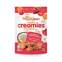 Happy Baby™ Happy Creamies™ 1 oz. Organic Dairy-Free Snack in Strawberry, Raspberry & Carrot
