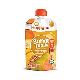 Happy Baby™ Happy Tot™ 4.22-Ounce Pouch Veggie & Fruit Mix in Pumpkin, Sweet Potato, & Pear