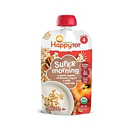 Happy Tot™ Morning 4 oz. Organic Blend in Apple, Cinnamon, Yogurt & Oats