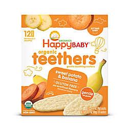 Happy Baby™ Gentle Teethers 12-Packs of 2 Banana & Sweet Potato Organic Teething Wafers