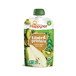 Happy Baby™ Happy Tot™ Organic Fiber & Protein 4 oz. Pear, Kiwi, and Kale Pouch