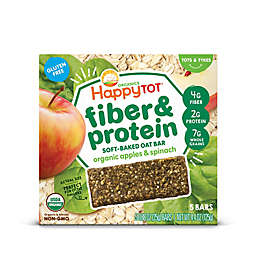Happy Baby™ Happy Tot™ Organic 5-Pack Apples and Spinach Soft-Baked Oat Bars