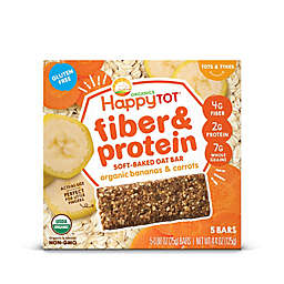 Happy Baby™ Happy Tot™ Organic 5-Pack Bananas and Carrots Soft-Baked Oat Bars