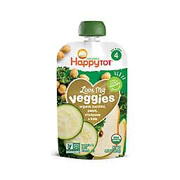 Happy Tot™ Love My Veggies 4 oz. Veggie & Fruit Blend Pouch in Zucchini, Pear, Chickpea & Kale