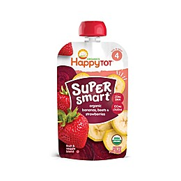 Happy Baby™ Happy Tot™ Organic Super Smart 4 oz. Banana, Beet, and Strawberry