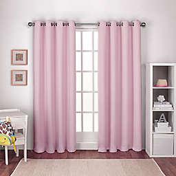 Textured Woven 2-Pack Grommet Top Window Curtain