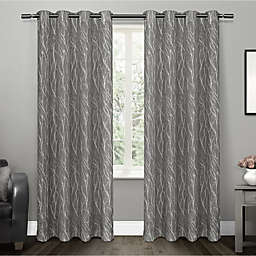 Oakdale 2-Pack Grommet Top Window Curtain
